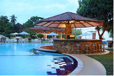 Pool View, Hotel Avenra Garden, Negombo, Sri Lanka