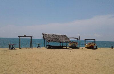 Beach view, Kalpitiya, Omeesha Beach Hotel, Sri Lanka,