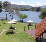 Hotel Mapakada Village, Mahiyangana Sri Lanka, Sorabora lake view