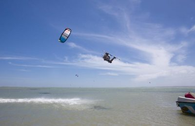 Kite Surfing, Kalpitiya, Western Coast, Sri Lanka