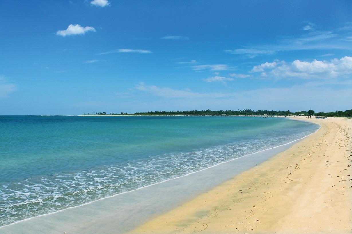 Pasikuda Beach, Eastern Coast, Sri Lanka