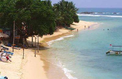 Unawatuna Beach, Galle, Bay Watch Hotel Unawatuna