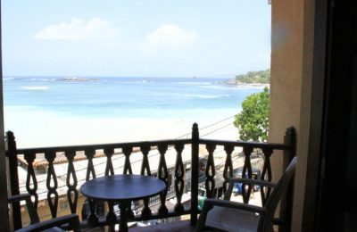 Neptune Bay Hotel, Unawatuna, Galle, Sri Lanka, Sea view balcony
