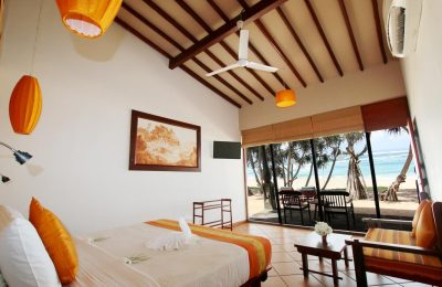 Luxury room on the beach, The Beach Cabanas, Galle, Sri Lanka, Sea View