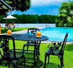 Pool & river view, Okvin River Villa, Bentota, Sri /lanka