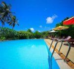 Aditya Boutique Villas, Hikkaduwa, Sri Lanka, Pool Beach View