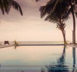 infinity pool sea view sapphire beachfront hotel Hikkaduwa Sri Lanka