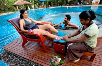 Swimming pool, Siddhalepa Ayurveda resort & spa, Sri Lanka, Wadduwa